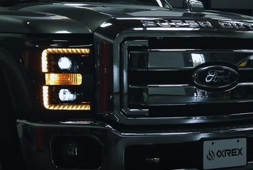 AlphaRex 2011 2012 2013 2014 2015 2016 Ford Super Duty F250/F350/F450/F550 Projector Headlights Installation Guide