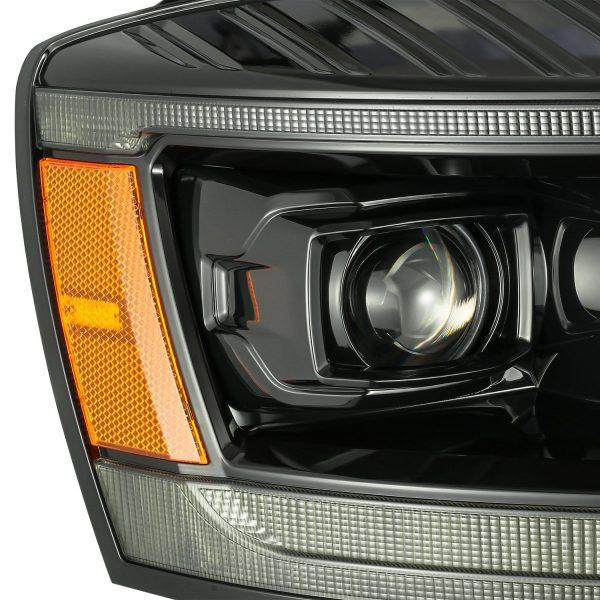 2006 2007 2008 Dodge Ram 1500 2500 3500 PRO-Series Projector Headlights Alpha Black