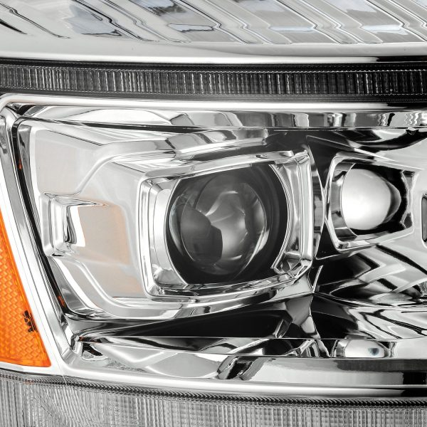 2006 2007 2008 Dodge Ram 1500 2500 3500 PRO-Series Projector Headlights Chrome