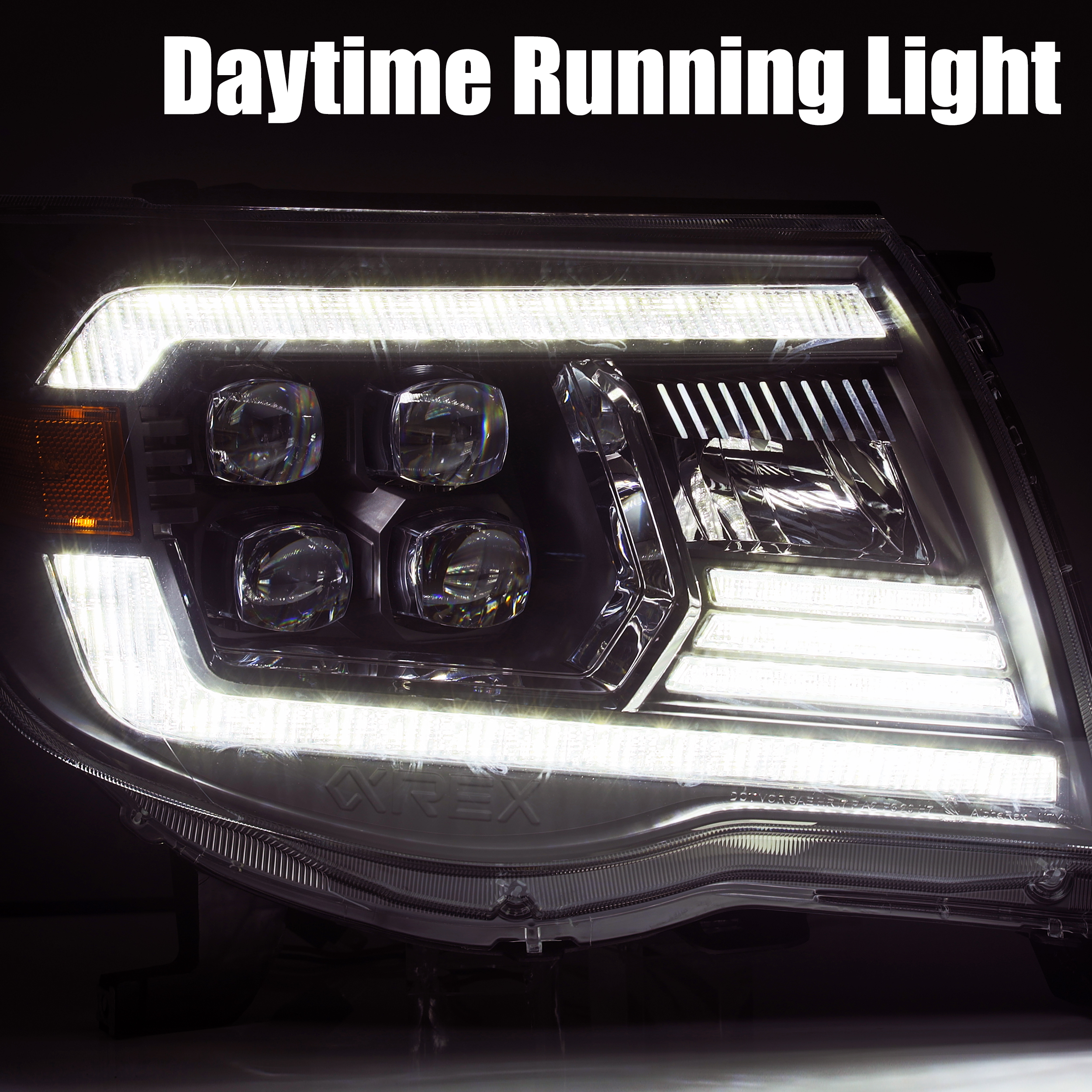 AlphaRex 2005 2006 2007 2008 2009 2010 2011 Toyota Tacoma NOVA-Series LED Projector Headlights