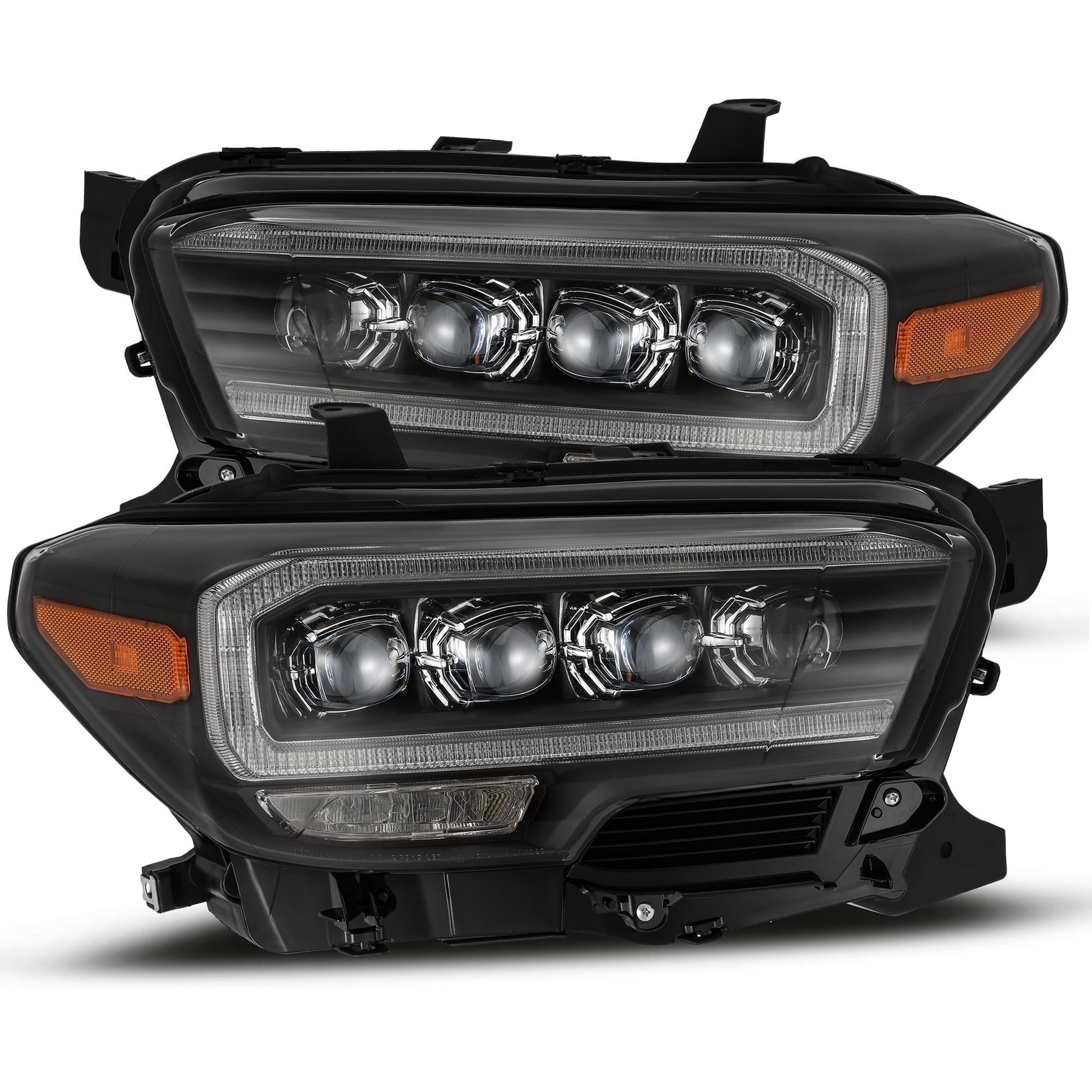 2016 2017 2018 2019 2020 Toyota Tacoma NOVA-Series LED Projector Headlights Black