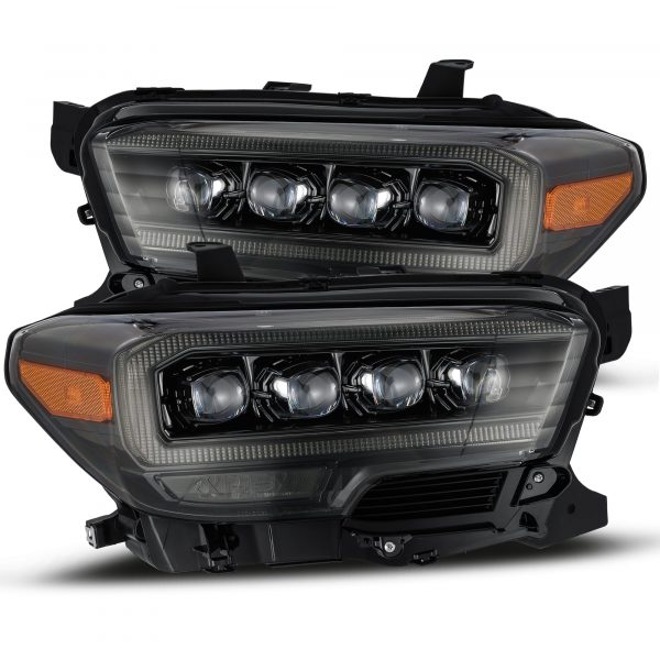 2016 2017 2018 2019 2020 Toyota Tacoma NOVA-Series LED Projector Headlights Alpha-Black