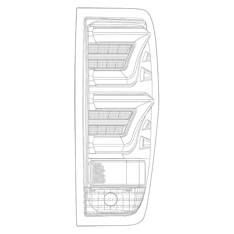 2009 2010 2011 2012 2013 2014 Ford F150 PRO-Series LED Tail Lights Design