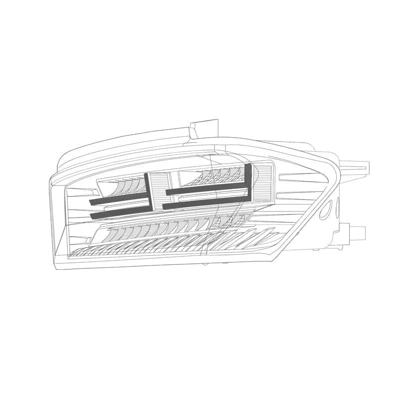 2016 2017 2018 Chevrolet Camaro PRO-Series LED tail lights Design