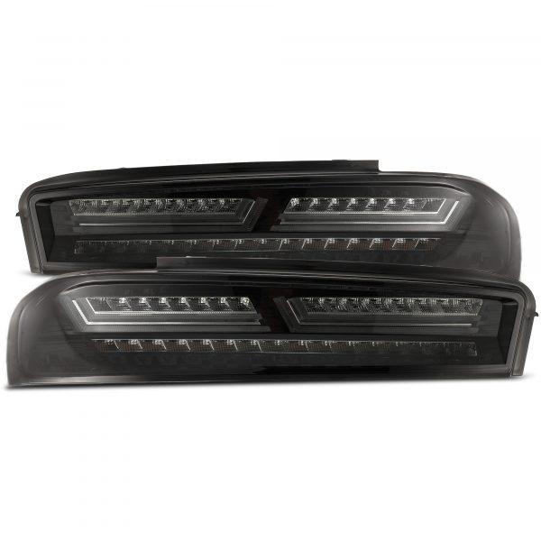 2016 2017 2018 Chevrolet Camaro PRO-Series LED Tail Lights Jet Black