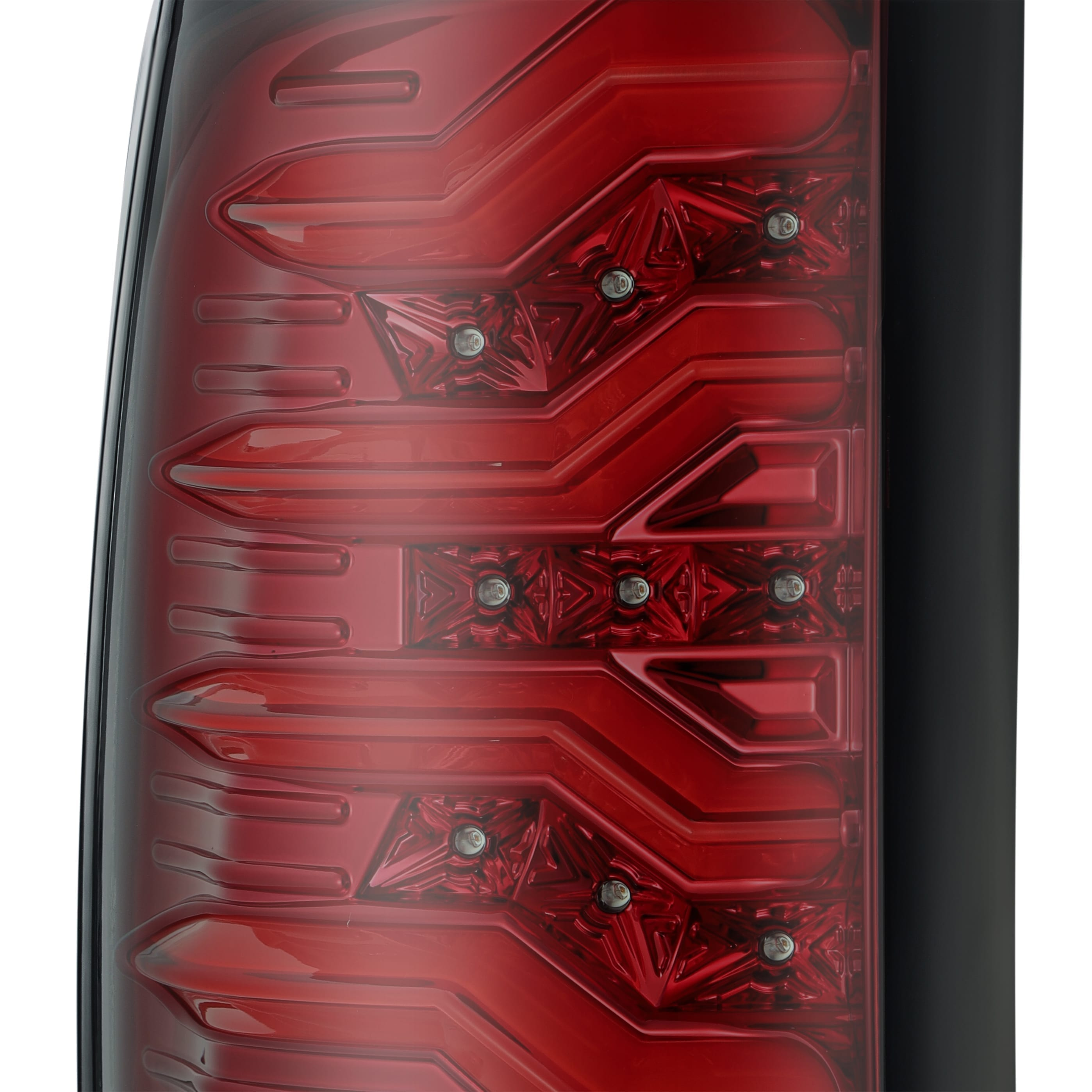 2009 2010 2011 2012 2013 2014 2015 2016 2017 2018 Ram 1500/2500/3500 PRO-Series LED Tail Lights Red Smoke
