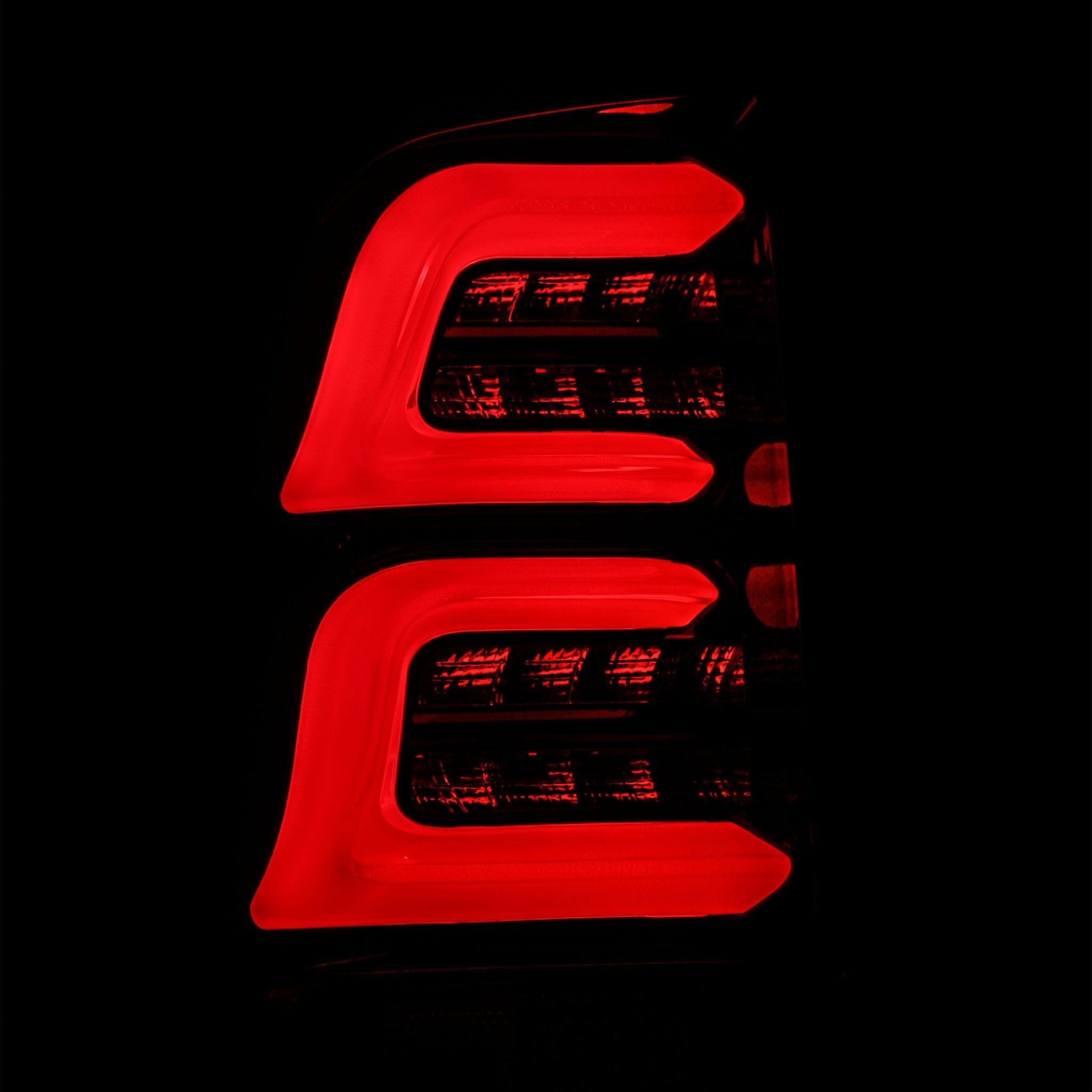 1997 1998 1999 2000 2001 2002 2003 2004 2005 2006 2007 2008 Ford F150/F250/F350 Super Duty PRO-Series LED Tail Lights Jet Black