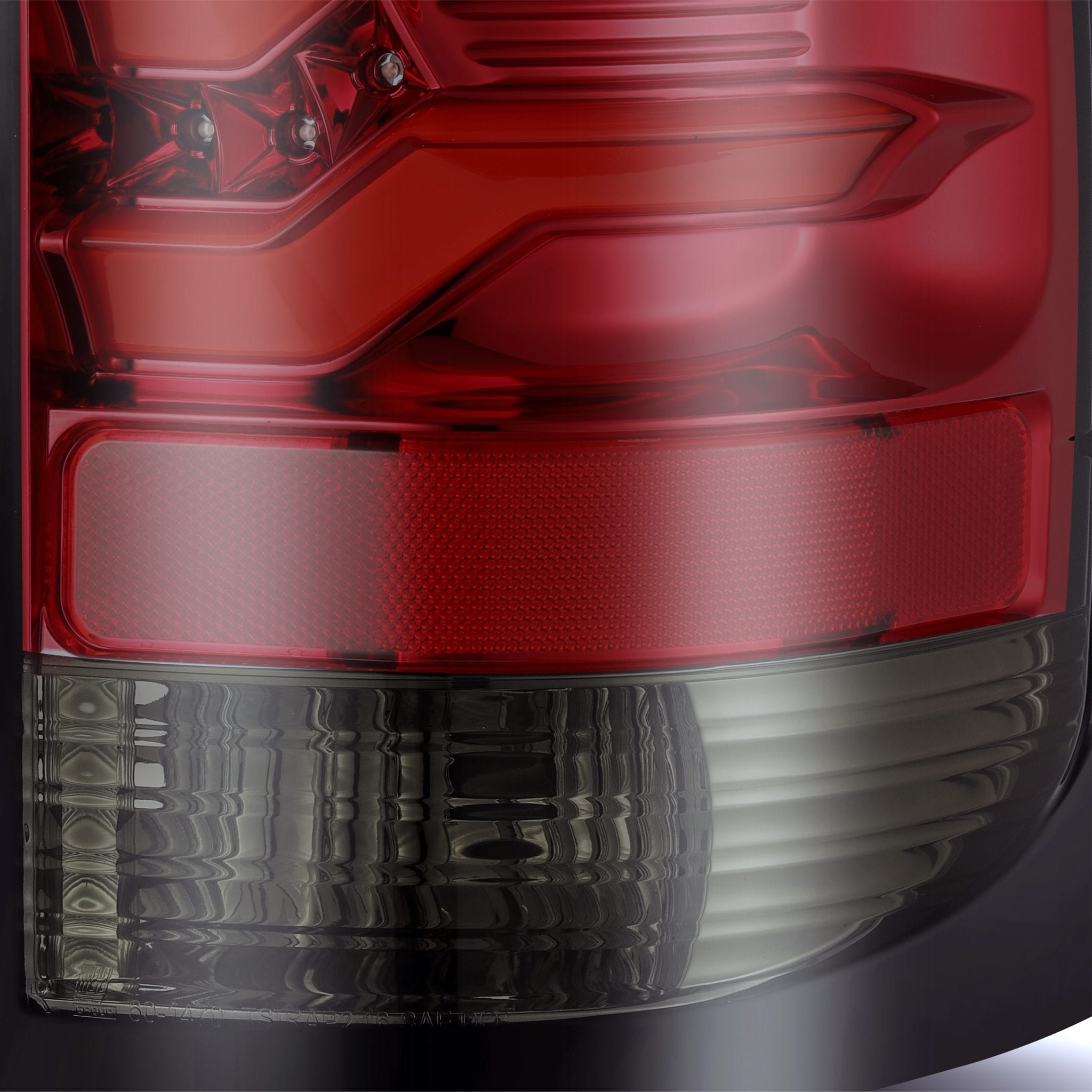 2014 2015 2016 2017 2018 GMC Sierra PRO-Series LED Tail LIghts Red Smoke