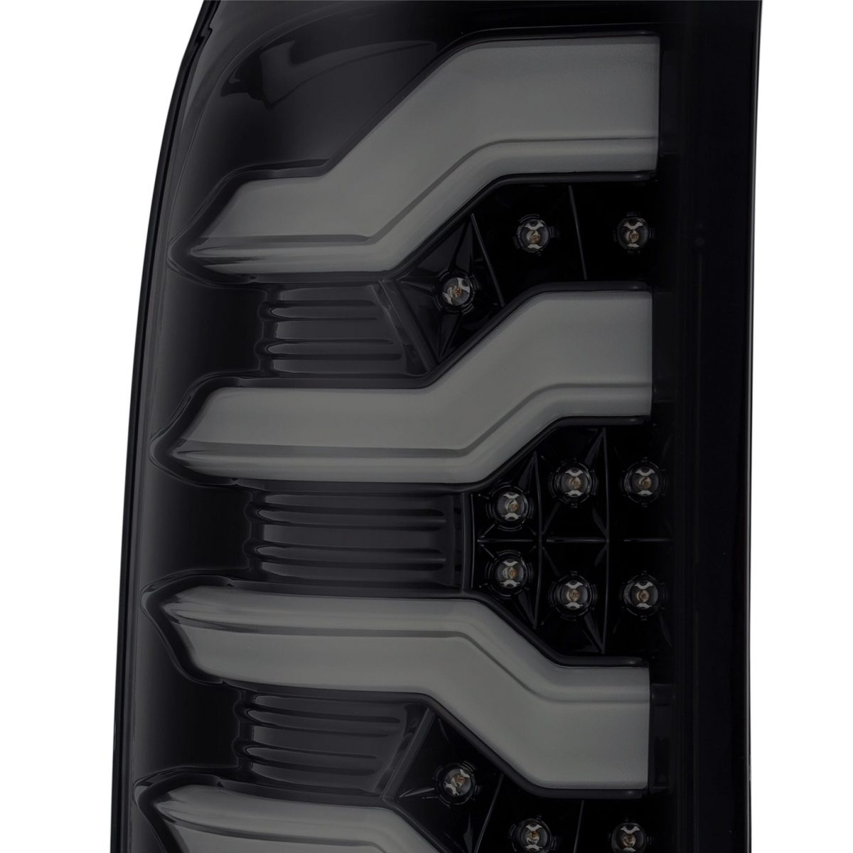 2014 2015 2016 2017 2018 GMC Sierra PRO-Series LED Tail LIghts Jet Black