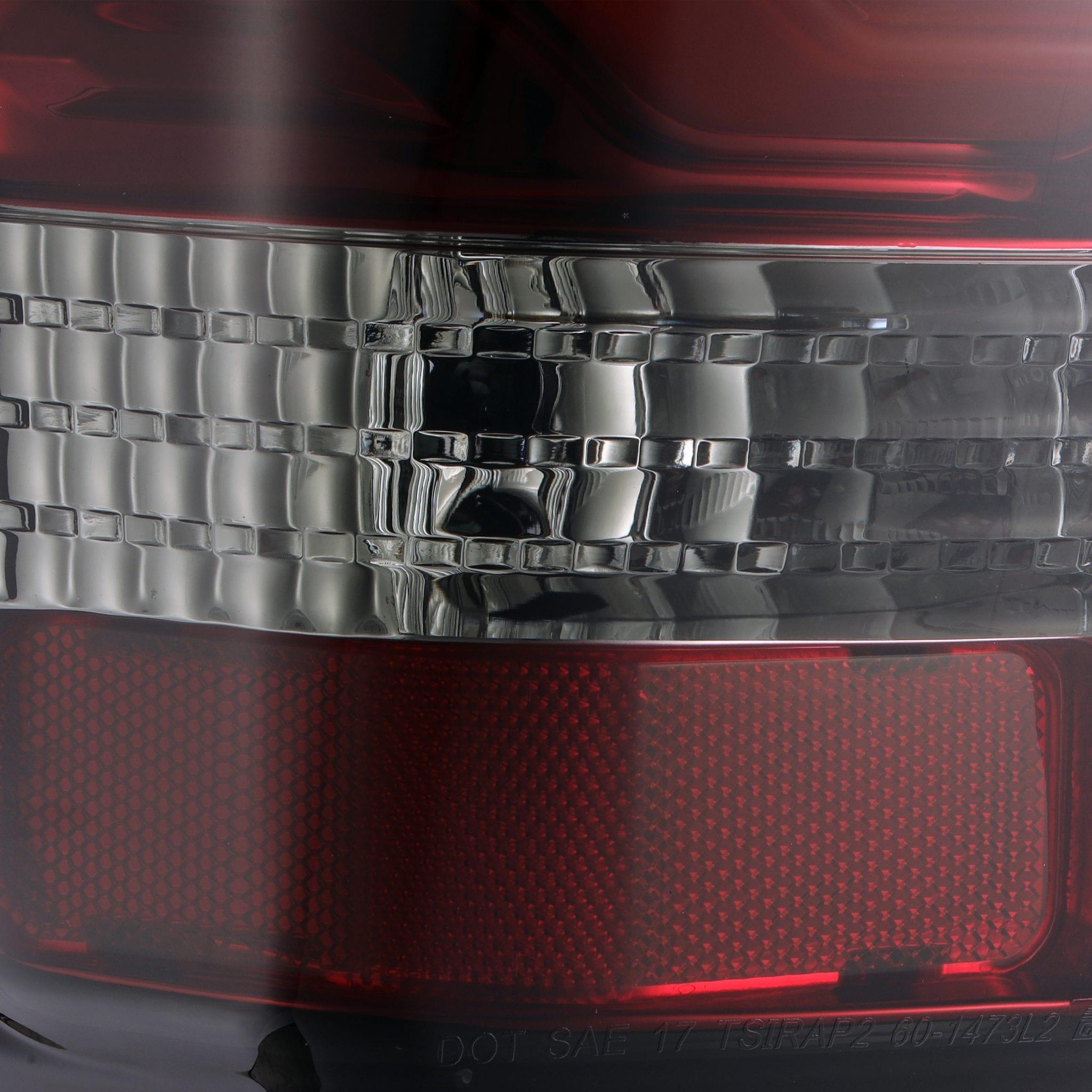 2016 2017 2018 2019 2020 Toyota Tundra PRO-Series LED Tail Lights Red Smoke