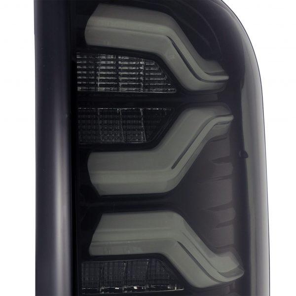 2016 2017 2018 2019 2020 Toyota Tundra PRO-Series LED Tail Lights Jet Black