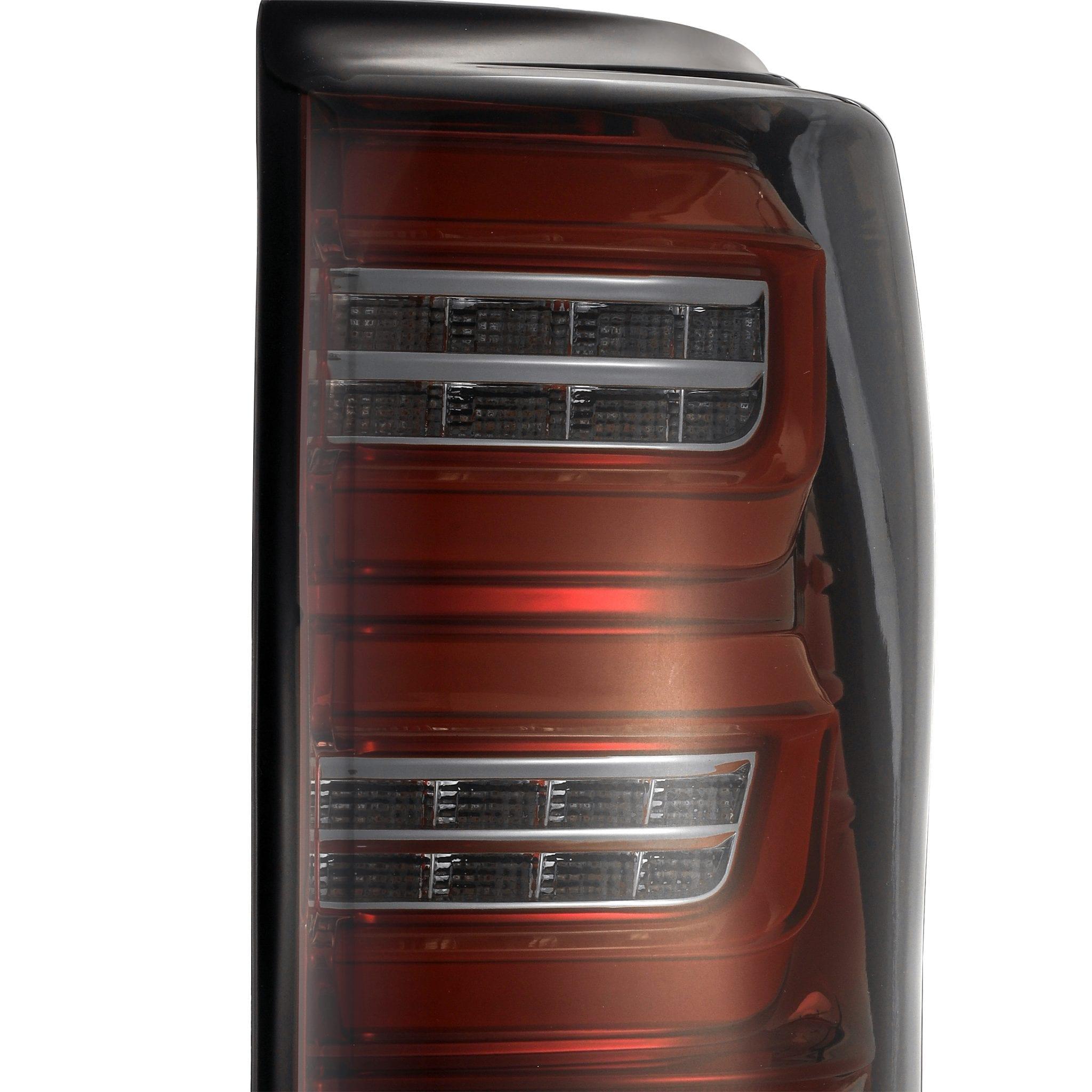 2007 2008 2009 2010 2011 2012 2013 Toyota Tundra PRO-Series LED Tail Lights Red Smoke
