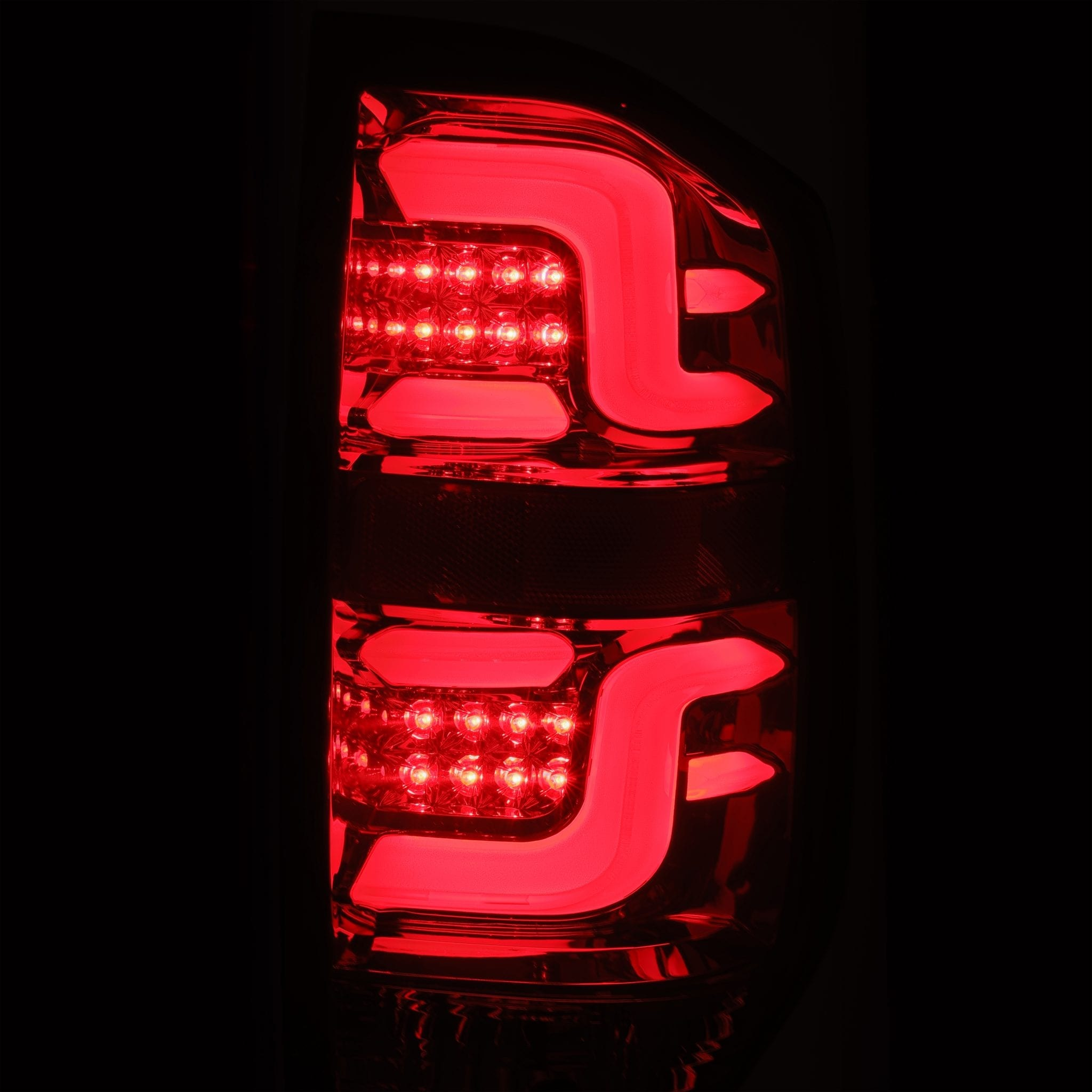 2014 2015 2016 2017 2018 2019 2020 Toyota Tundra PRO-Series LED Tail Lights Red Smoke