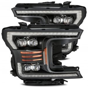 2018 2019 2020 Ford F150 NOVA-Series Full LED Projector Headlights Black
