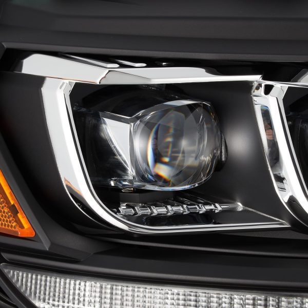2016 2017 2018 2019 2020 Ford Ranger AlphaRex NOVA-Series LED Projector Headlights Black