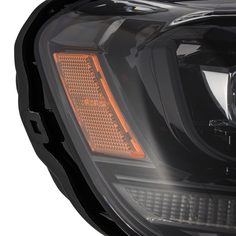 2016 2017 2018 2019 2020 Ford Ranger AlphaRex NOVA-Series LED Projector Headlights Alpha Black