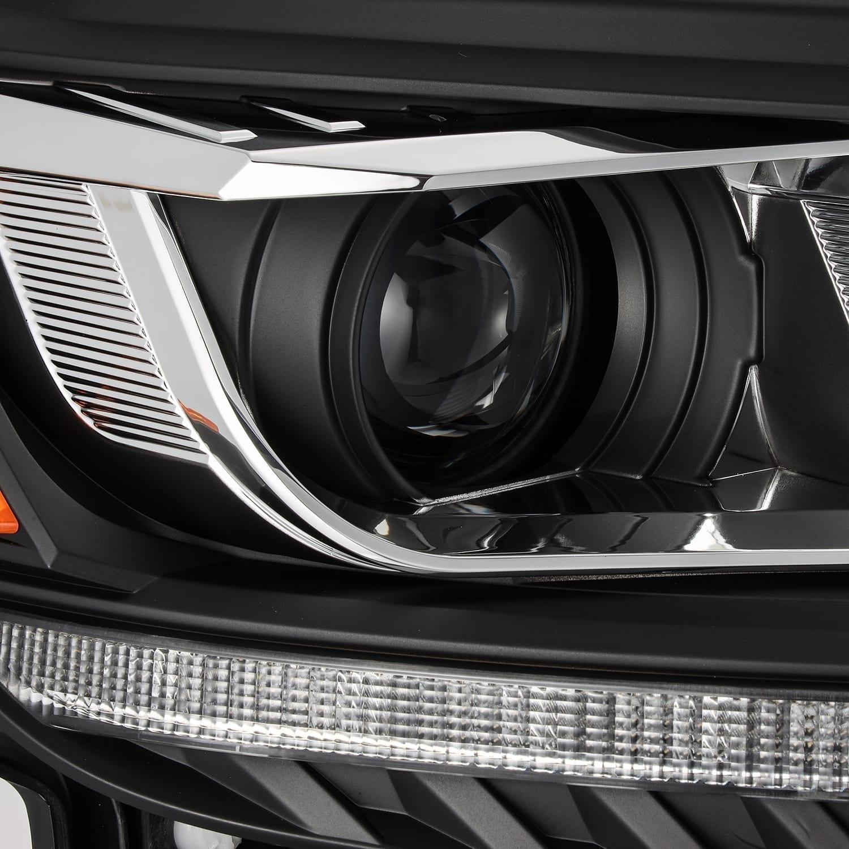 2016 2017 2018 2019 2020 Ford Ranger AlphaRex PRO-Series/LUXX-Series Projector Headlights Black