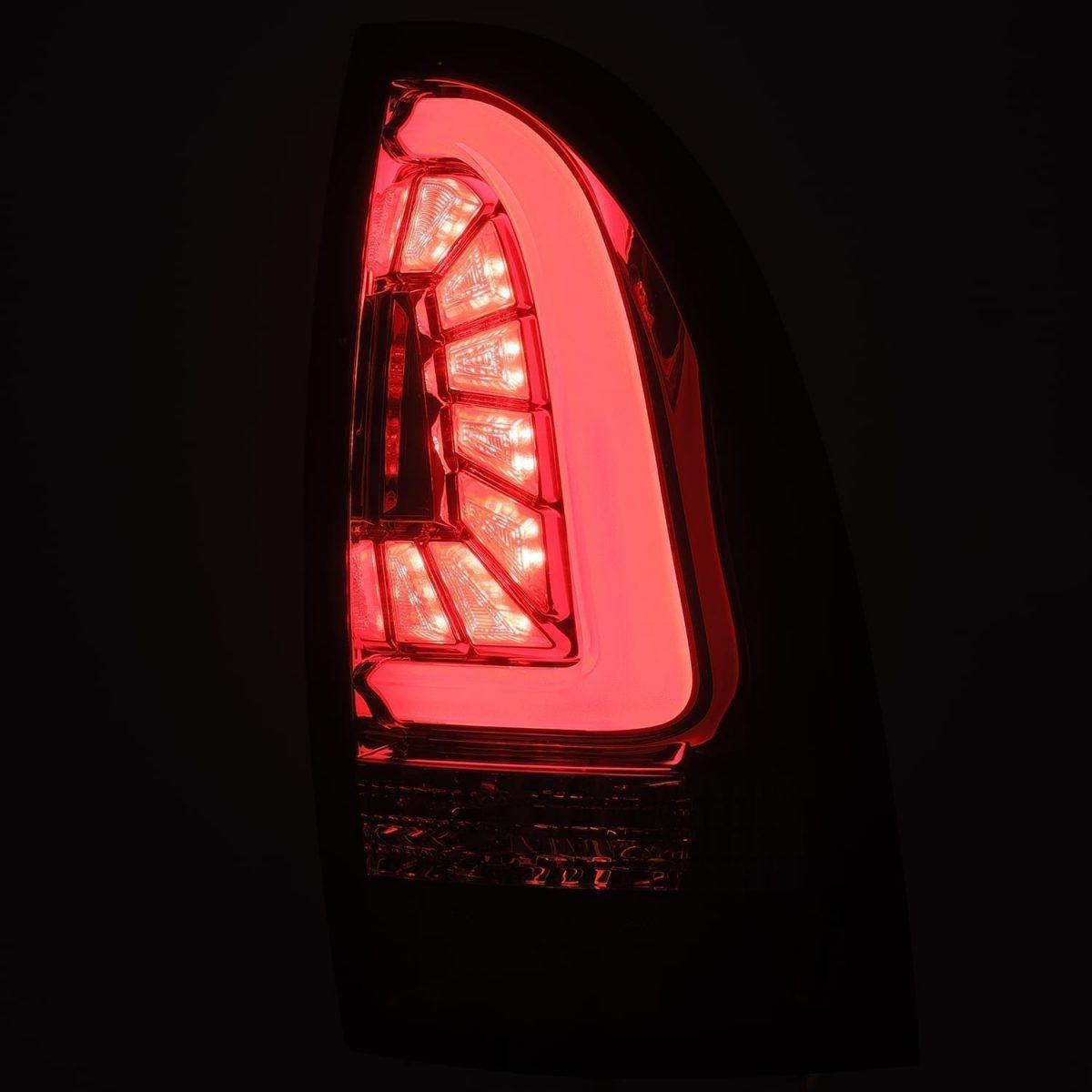 2005 2006 2007 2008 2009 2010 2011 2012 2013 2014 2015 Toyota Tacoma AlphaRex PRO-Series LED Tail Lights