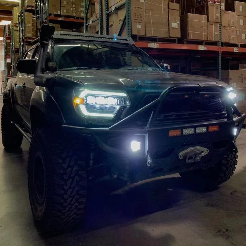 2012 2013 2014 2015 Toyota Tacoma AlphaRex NOVA-Series LED Projector Headlights