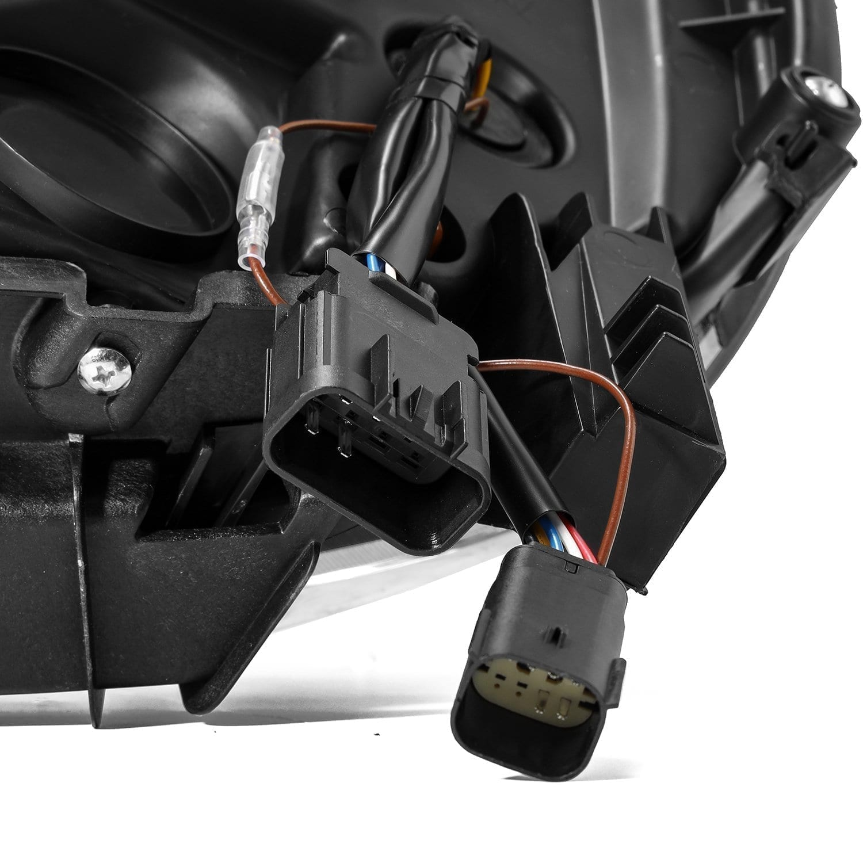 2014 2015 2016 2017 2018 GMC Sierra NOVA-Series Full LED Projector Headlights