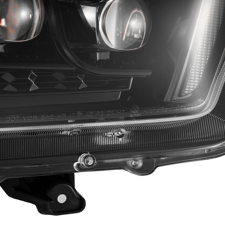 2010 2011 2012 2013 Toyota 4Runner NOVA-Series Full LED Projector Headlights Alpha-Black