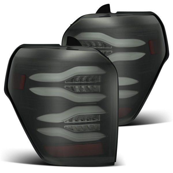 AlphaRex 2010 2011 2012 2013 2014 2015 2016 2017 2018 2019 2020 2021 Toyota 4Runner PRO-Series LED Tail Lights Jet Black